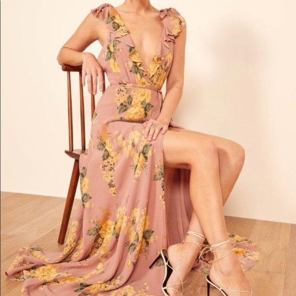 Reformation Peppermint Gwyneth Dress, Size XS, NWT